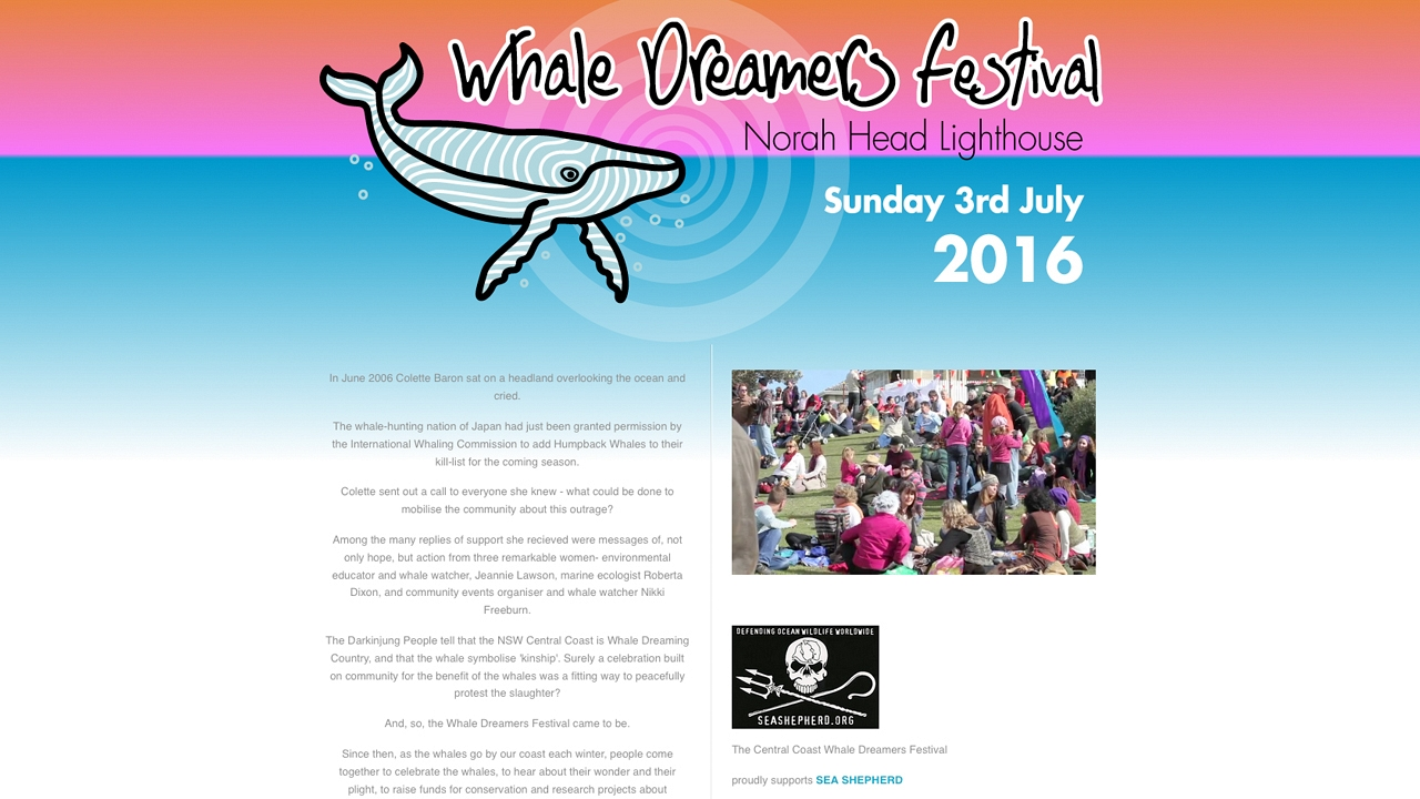 Whale Dreamers Festival